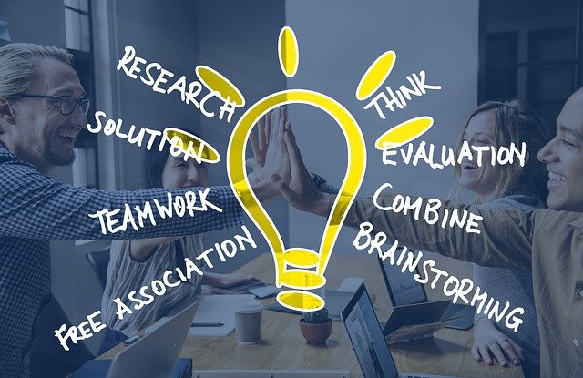 Brainstorming Team Human Idea  - geralt / Pixabay